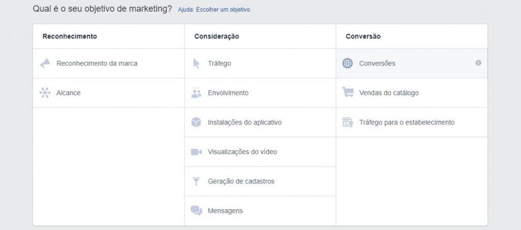 como realizar campanhas no Facebook Ad