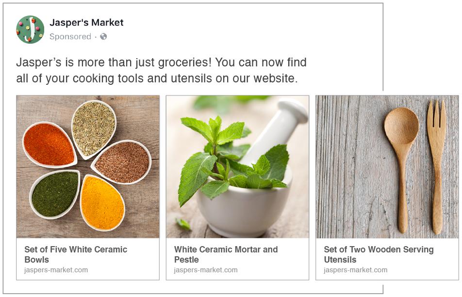 como montar o anuncio no Facebook Ad