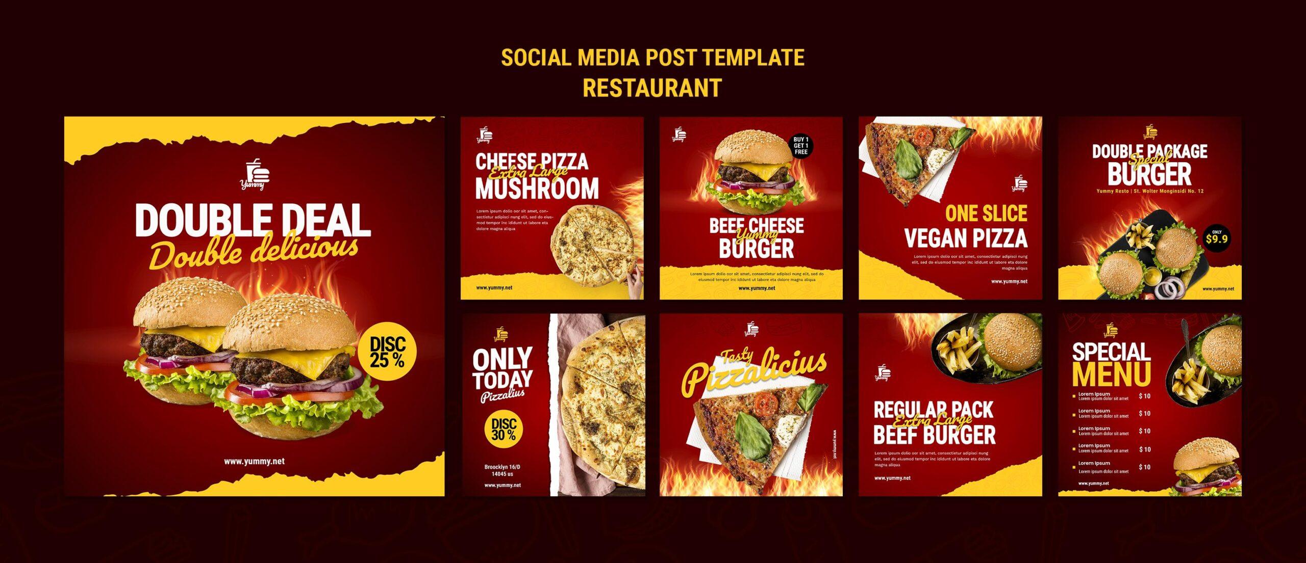 gestão de redes sociais para restaurantes