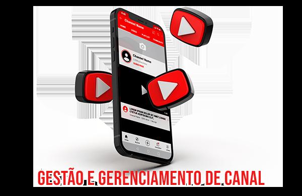 gestão de youtube gerenciamento de canal youtube